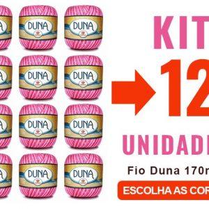 Fio Duna 170m – Kit 12 Unidades – 12x –