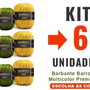 Barbante Barroco Multicolor Premium Kit 6 Un –
