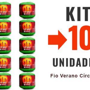 Fio Verano Círculo – Kit 10 Unidades