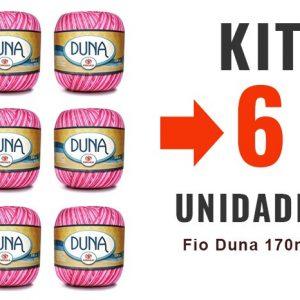 Fio Duna 170m – Kit 6 Unidades