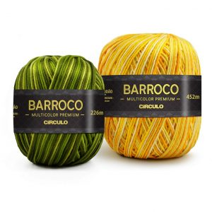 Barbante Barroco Multicolor Premium Kit 6 Unidades