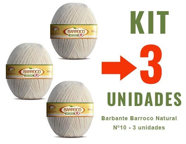 Barbante Barroco Natural